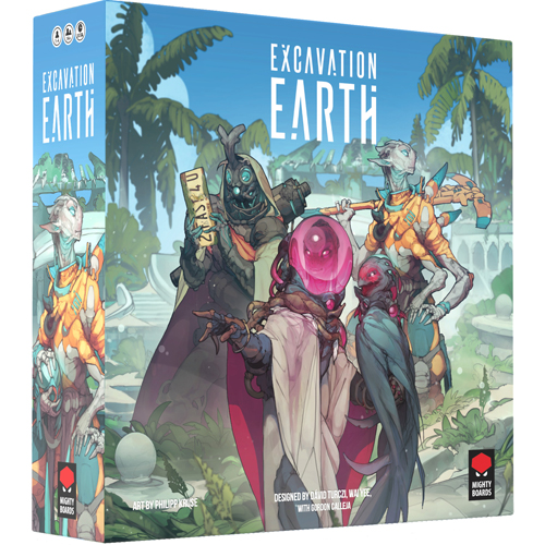 Excavation Earth board game