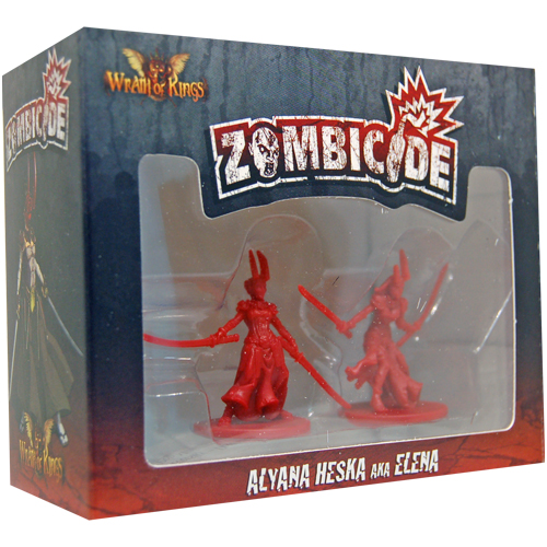 Zombicide Survivor: Alyana Heska AKA Elena board game