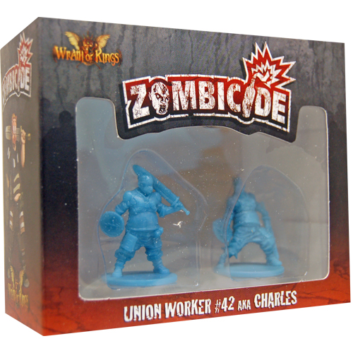 Zombicide: Union Worker #42 AKA Charles board game