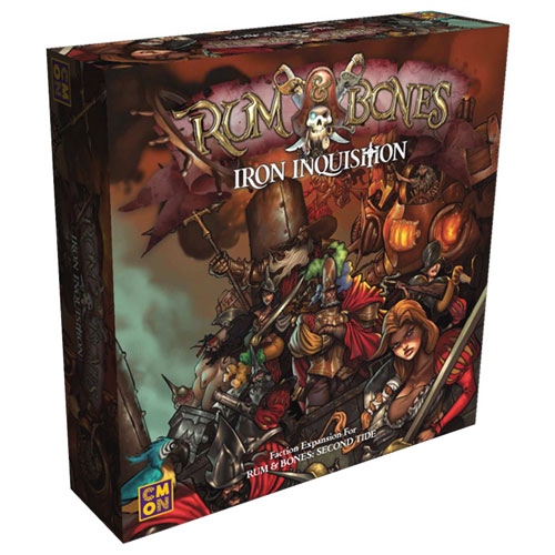 Rum & Bones: Second Tide – Iron Inquisition board game