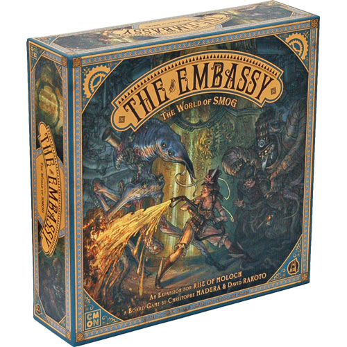 The World of SMOG: Rise of Moloch – The Embassy board game