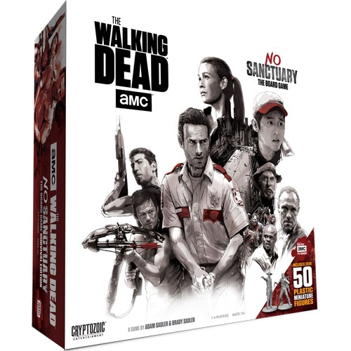 The Walking Dead: No Sanctuary board game