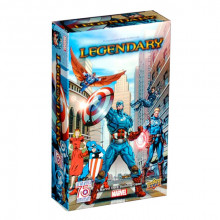 Legendary: Marvel Deck Building Game - Captain America 75th Anniversary Expansion