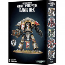Warhammer 40K: Knight Preceptor Canis Rex