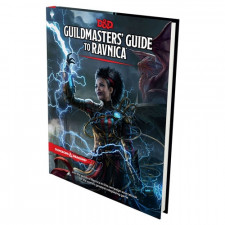 D&D 5E RPG: Guildmasters' Guide to Ravnica (Hardcover)