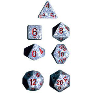Chessex: Polyhedral Dice Set - Speckled Air (7)