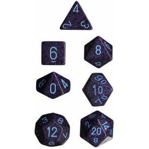 Chessex: Polyhedral Dice Set - Speckled Cobalt (7)