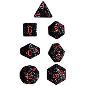 Chessex: Polyhedral Dice Set - Speckled Space (7)