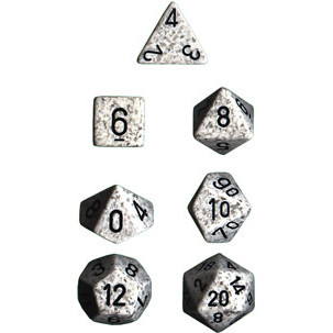 Chessex Dice Set: Speckled Artic Camo (7)