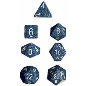Chessex: Polyhedral Dice Set - Speckled Sea (7)