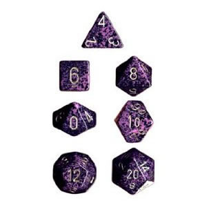 Chessex: Polyhedral Dice Set - Speckled Hurricane (7)