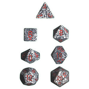 Chessex: Polyhedral Dice Set - Speckled Granite (7)