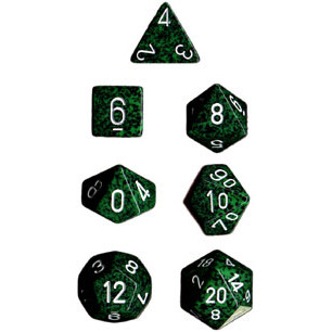 Chessex: Polyhedral Dice Set - Speckled Recon (7)