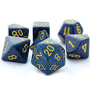 Chessex: Polyhedral Dice Set - Speckled Twilight (7)