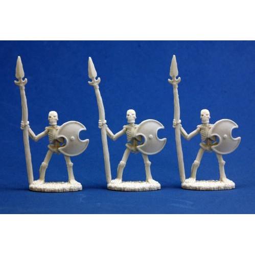 Dark Heaven Bones: Skeletal Spearmen (3)