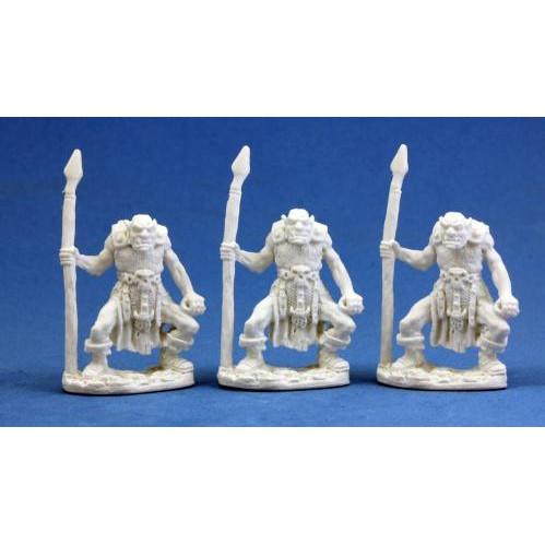 Dark Heaven Bones: Orc Spearmen (3)