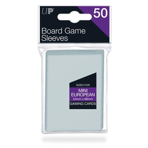 Ultra Pro Board Game Sleeves: Mini European (44mm x 68mm) (50)