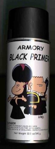Armory Spray Primer (Black)