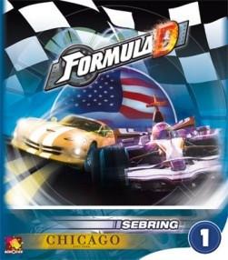 Formula D: Expansion 1 - Sebring and Chicago