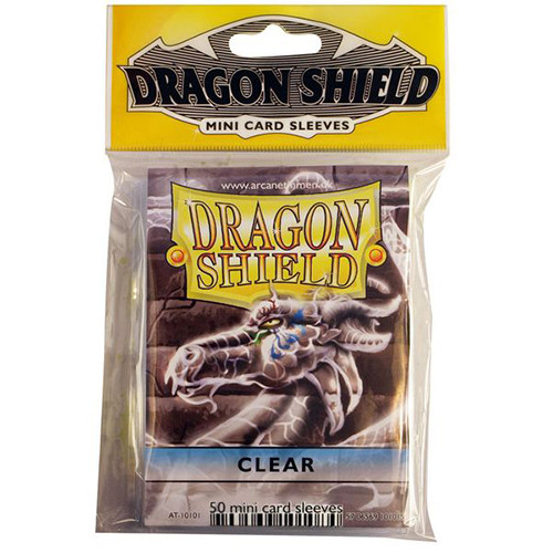 Dragon Shield Sleeves: Classic - Japanese Size - Clear (50)