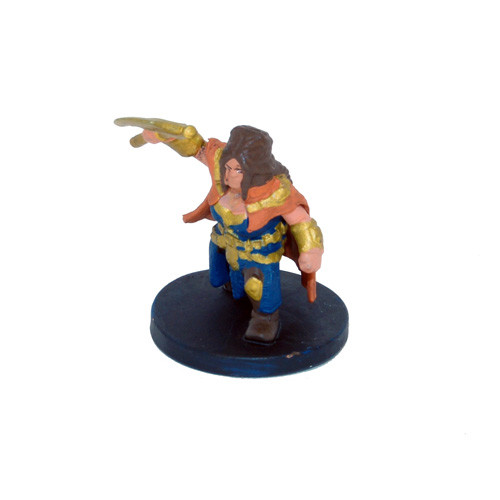 Elemental Evil #015 Gold Dwarf Guard (U)
