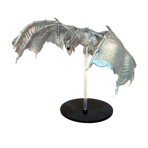 Elemental Evil #45 Silver Dragon (Out of Box) (Fixed)