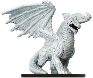 Night Below #58 Large White Dragon (R)