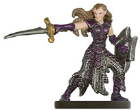 PHB Heroes #06 Female Eladrin Fighter (No Card)