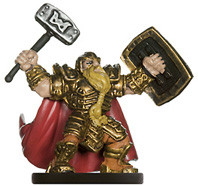 PHB Heroes #13 Male Dwarf Paladin (No Card)