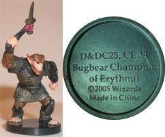 Angelfire Bugbear Champion of Erythnul (Promo)