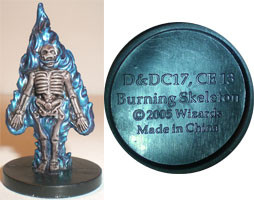 Deathknell Burning Skeleton (Promo DDC17)