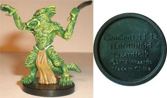 Aberrations Half-Illithid Lizardfolk (Promo # GenCon1)
