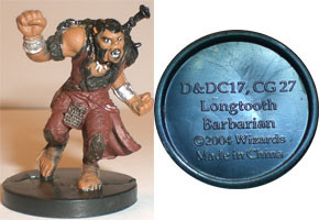 Aberrations Longtooth Barbarian (Promo DDC17)