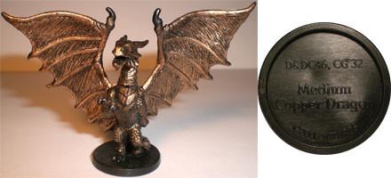 Blood War Medium Copper Dragon (Promo # DDC46)