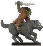 Savage Encounters #17 Goblin Wolf Rider (U)
