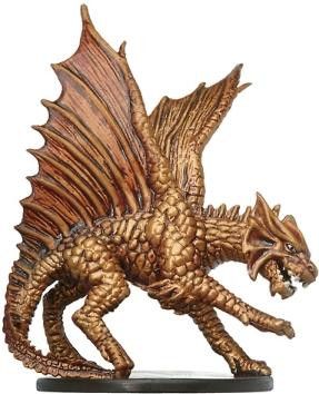 Unhallowed #19 Large Brass Dragon (R)