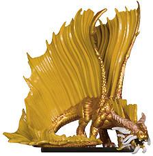 Dangerous Delves #39 Young Gold Dragon (R)