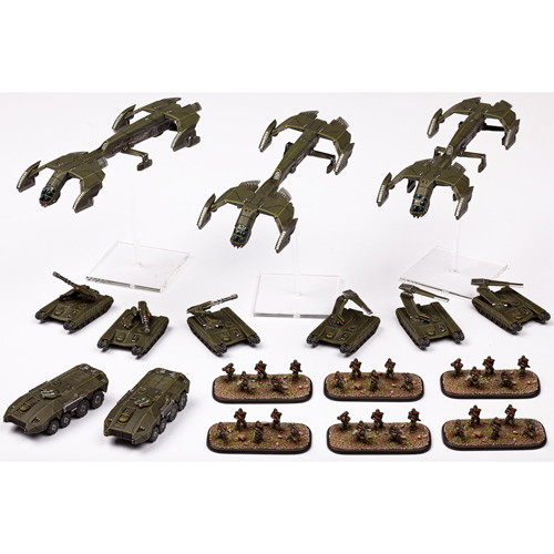 Dropzone Commander: UCM - Premium Starter Army with Case