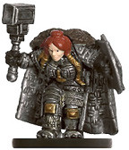 Dungeons of Dread #33 Dwarf Shieldmaiden (U)