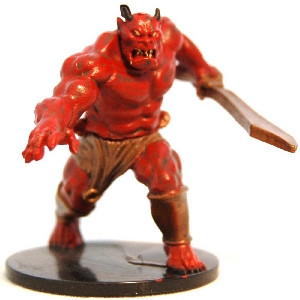 Lords of Madness #14 Efreet Flameblade (U)