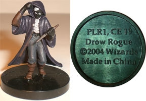 Giants of Legend Drow Rogue (Promo PLR1)