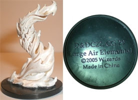 Angelfire Large Air Elemental (Promo DDC22)