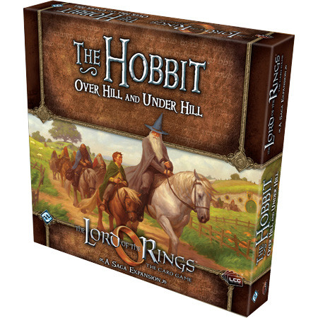 The Lord of the Rings LCG: The Hobbit: Over Hill Under Hill Saga Exp