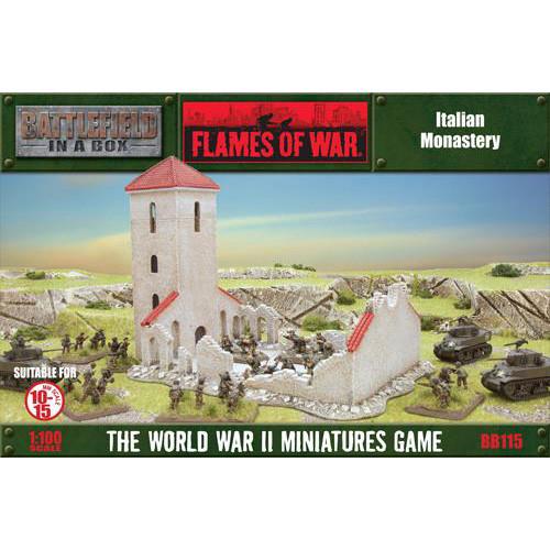 Flames of War: Battlefield in a Box - Italian Monastery