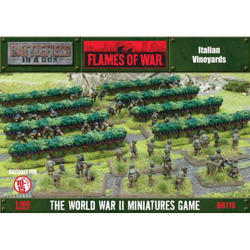 Flames of War: Battlefield in a Box - Italian Vineyards