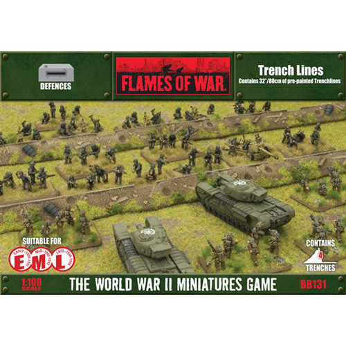 Flames of War: Battlefield in a Box - Trench Lines