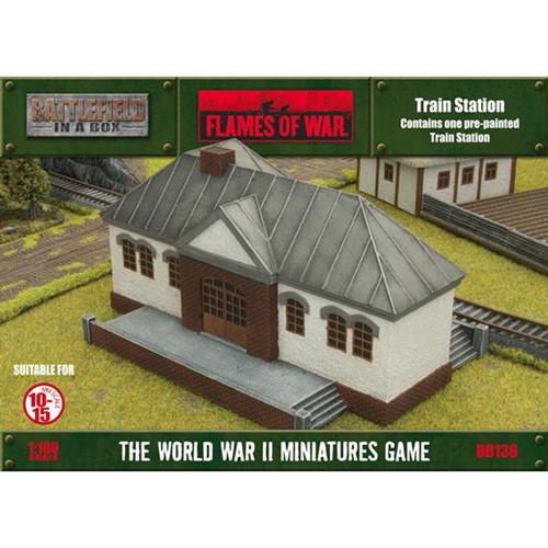 Flames of War: Battlefield in a Box - Train Station