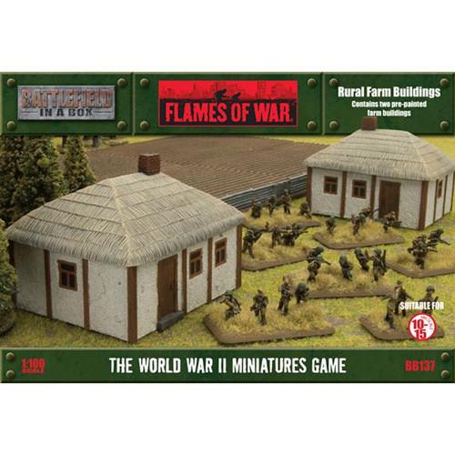 Flames of War: Battlefield in a Box - Rural Farm Buildings