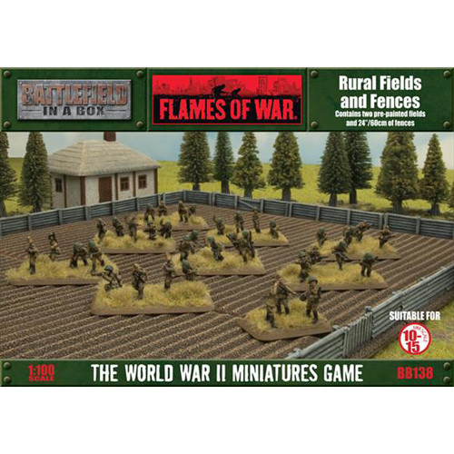 Flames of War: Battlefield in a Box - Rural Fields and Fences