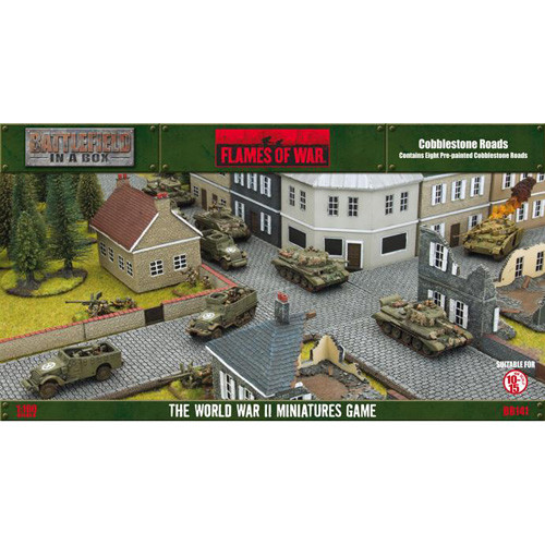 Flames of War: Battlefield in a Box - Cobblestone Roads